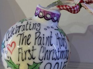 Bauble - Christmas Pottery Painting in Devon