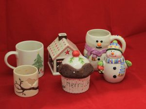 Christmas Pottery Painting in Devon