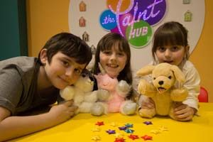 Build a Bear at the Paint Hub